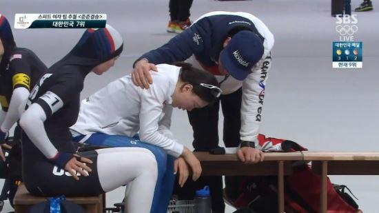 노선영 위로했던 밥 데 용 코치, 동료 저격 김보름-박지우와 '상반된 모습'