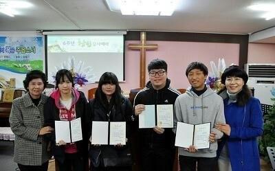 산본여행스케치, 군포소명교회 고등학생에게 장학금 지급