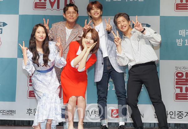 '일단 같이 가' 토니안-한승연-김소혜-MJ-진진, 한 자리에!