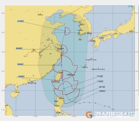 ˝다나스 다음은 나리˝…2019년 태풍 `시간차` 韓 위협 `빨간불`