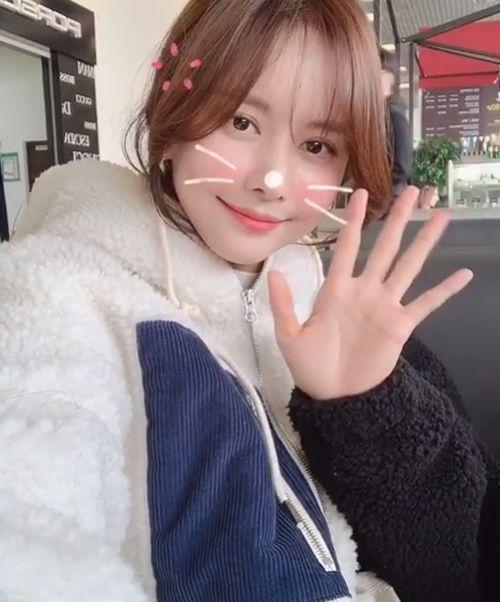 '런닝맨' 한보름, 우아한 여신미모로 영상 공개...남심저격