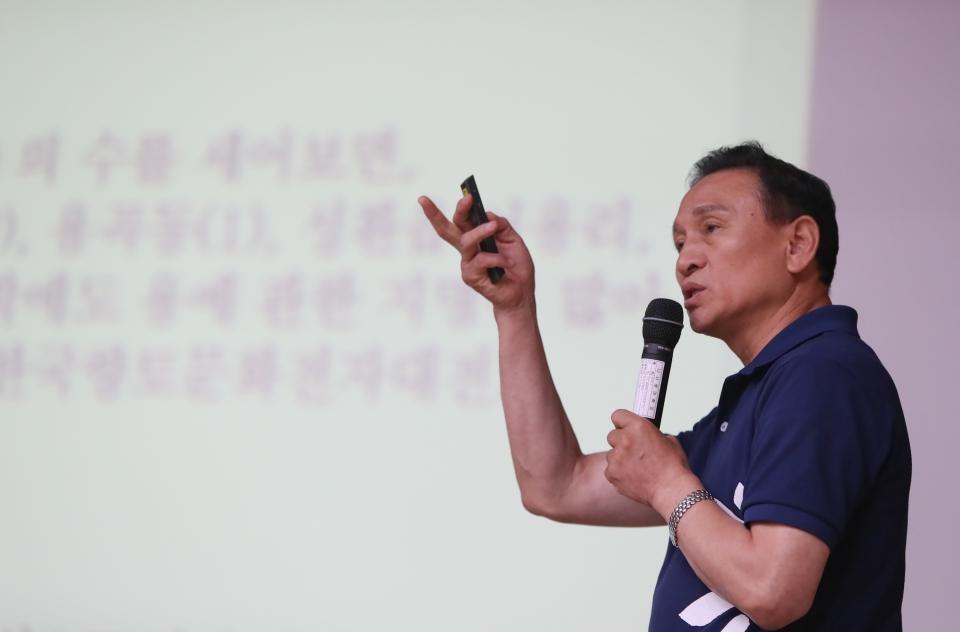 구본영 천안시장, 8개 대학서 '천안학' 순회 특강