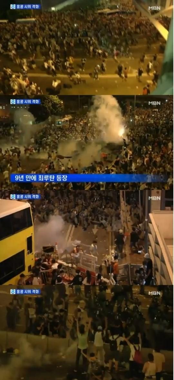 홍콩 민주화 시위 갈수록 격화 '제2의 텐안먼 사태' 되나