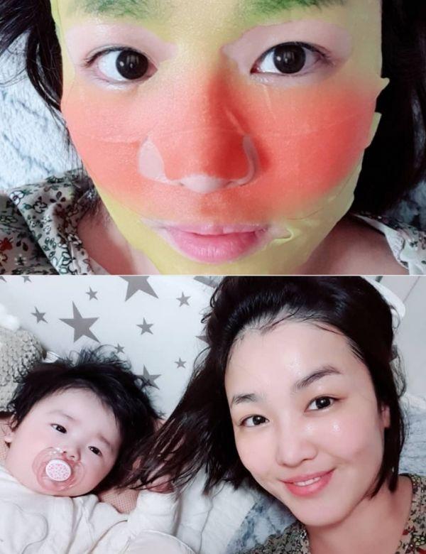 '미스트롯' 정미애, 딸과 알콩달콩 '꿀피부' 인증 [스타엿보기]