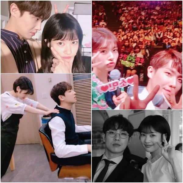 이준♥정소민, 이준 SNS 속 유난히 많던 정소민 사진 '사랑은 이 때 부터?'