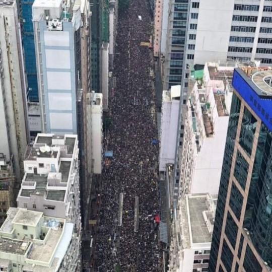 김정은, 홍콩 시위 언급