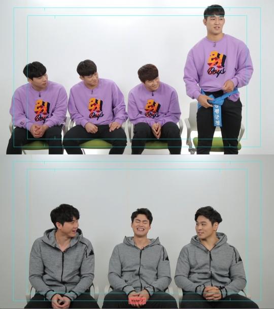 '씨름의 희열', 설 특집 방송...'태백급 훈남 4인방' 박정우·손희찬·노범수·허선행이 꼽은 최고 명장면은?