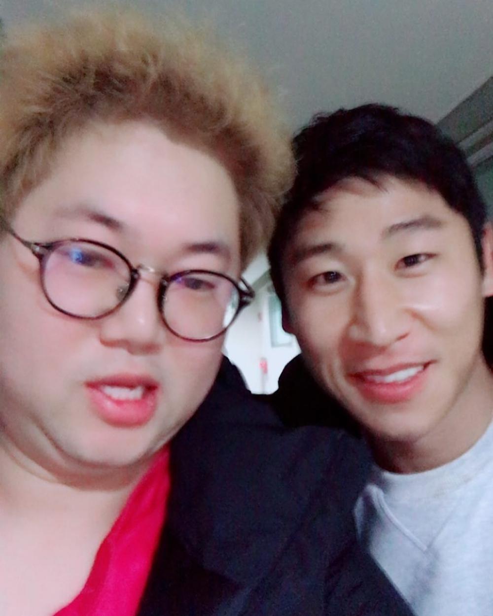 'K리그 홍보대사' 아프리카TV BJ 감스트, 이근호와 투샷 눈길