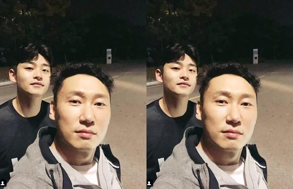 이승윤 매니저, 이승윤과 투샷 '180cm 키의 배우 서인국 닮은 매니저'