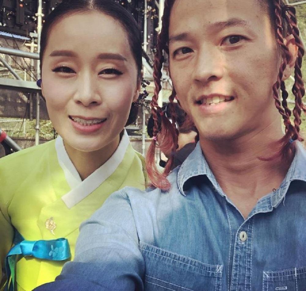 팝핀현준♥국악인 박애리, 나이 차이 무색한 부부의 셀카…'점점 닮아가는 두 사람'