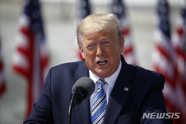트럼프, '코로나 핫스폿' 뉴욕 격리 언급…주지사 반발
