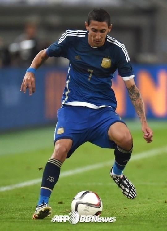 '팀을 바꾸는 남자' 디 마리아 1골 3도움, 아르헨티나-독일전 기세 맨유서도?