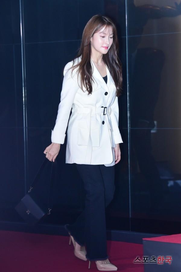 박규리, 사랑스런 코트 패션