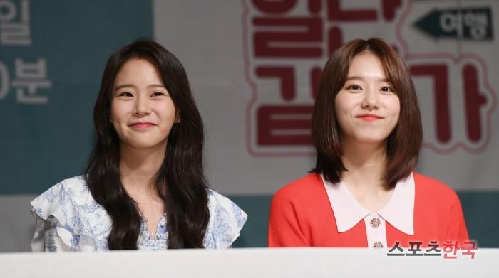 한승연·김소혜, 예쁜 애 옆에 예쁜 애 (일단 같이 가 제작발표회)