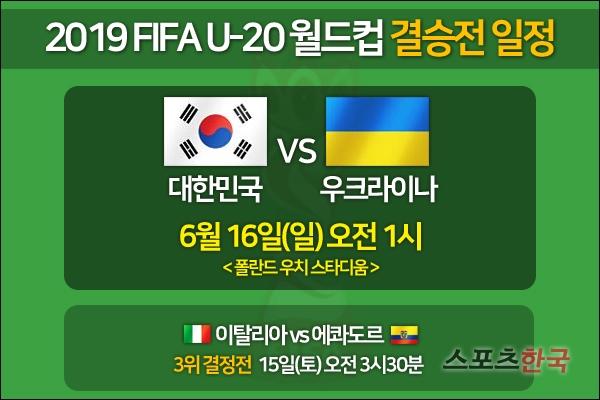 한국, 아시아 역대 세 번째로 U20 월드컵 결승 [2019 U20 월드컵]