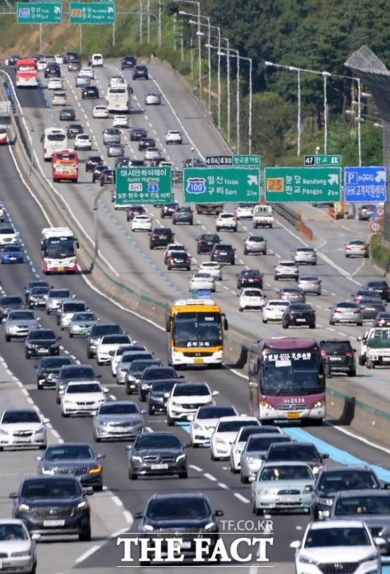 [고속도로 교통상황] 내일(6일) 지방·서울행 정체 절정 시간대는