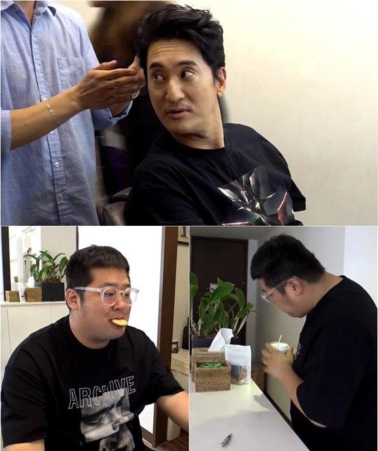 '전지적 참견 시점' 신현준 매니저, '먹방' 유망주 등극?