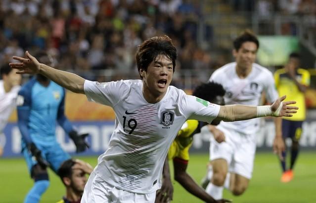 한국의 2019 U20 월드컵 결승 상대, 이탈리아 꺾은 우크라이나