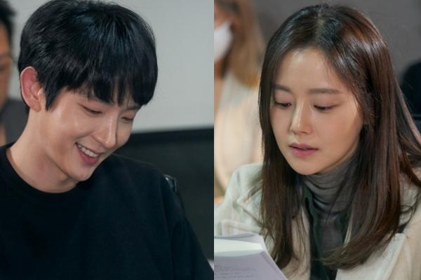 tvN '악의 꽃' 이준기-문채원-장희진-서현우, 대본 리딩 현장 공개