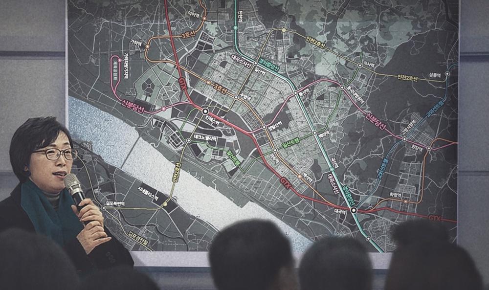 박윤희 전 고양시의회 의장, 인천지하철 2호선 연장계획 추진 제시