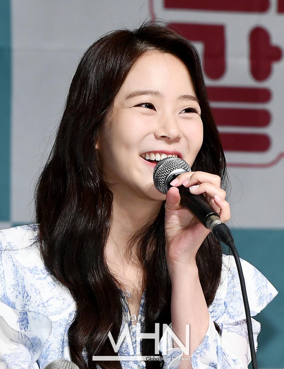 [MHN포토] 한승연 '여행 액티비티 전문가'
