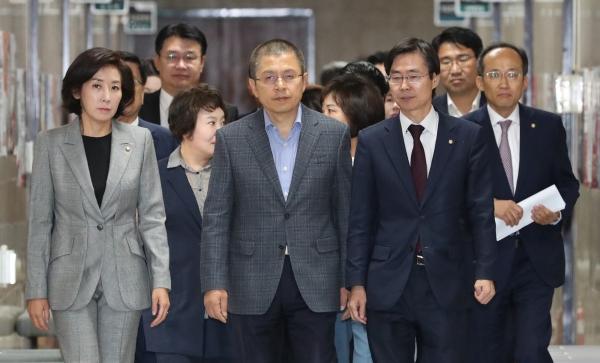 한국당, 당무감사 착수 경남 현역들 초긴장