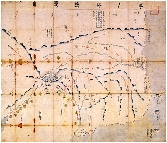 18세기 초 군사지도 등 10종, 고서 귀중본으로 지정
