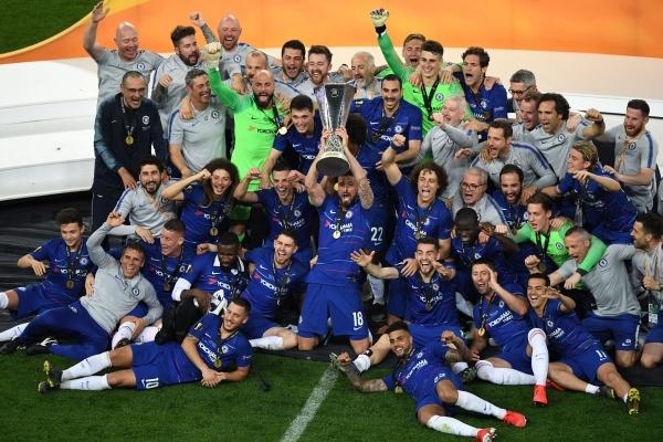 UEFA 유로파리그 결승전, 첼시-아스날 4:1 첼시 우승