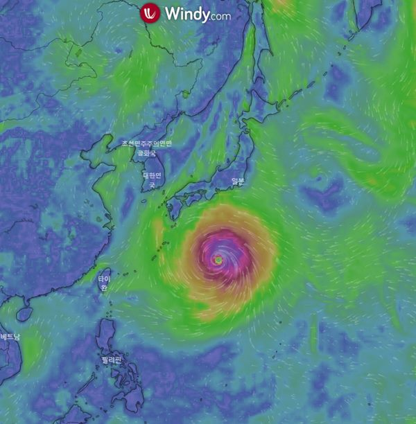 '10호 태풍 하이선' 예상 경로...한반도 관통할까?