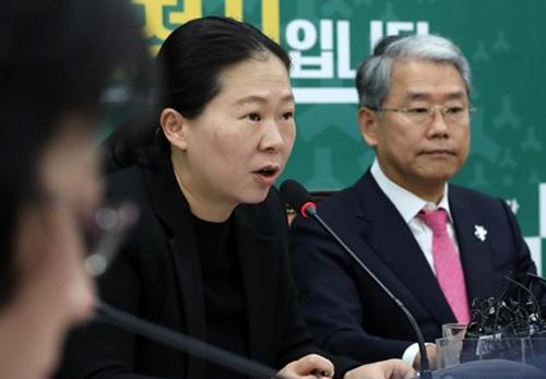 """권은희 """"與, 민생법안 볼모 못된 작태…자유당 빼면 본회의 불참"""""""