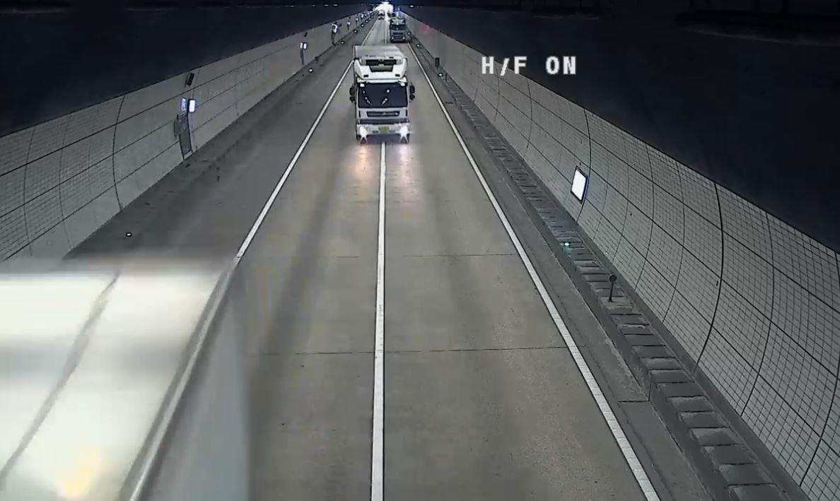 한국도로공사, 중부내륙선 상주터널 차로변경 위반 적발·신고