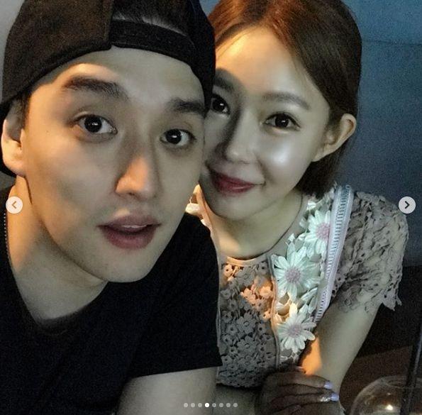 일라이♥지연수, 다정한 근황 공개 …빛나는 비주얼 '훈훈한 투샷'