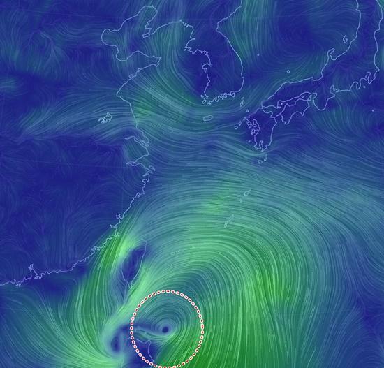 2019년 태풍 '다나스(DANAS)'경로 합동태풍경보센터, 대한민국 관통 예상…20일 제주 지나 우리나라 상륙 울산 방향 통과