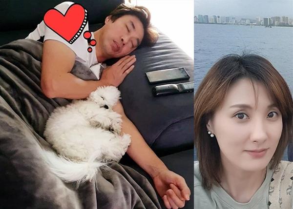 '아내의 맛' 진혜지, 김세진+강아지 낮잠 모습에도 애정 과시