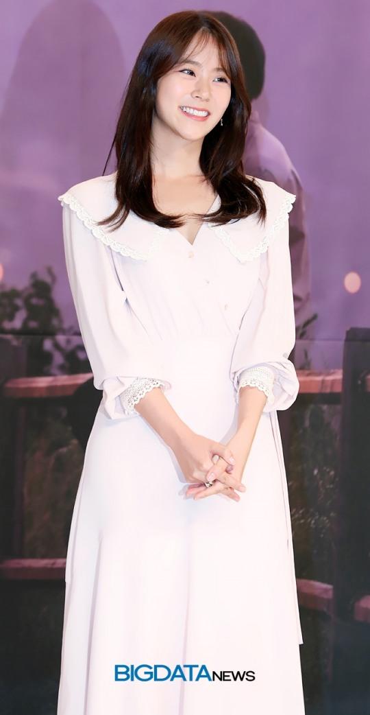[BIG포토] 한승연, 팬심 설레게하는 심쿵 미소