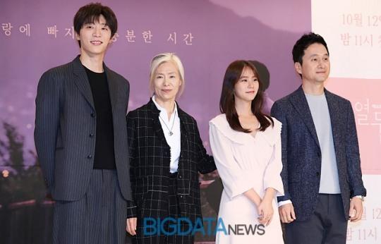 [BIG포토] 신현수-예수정-한승연-장현성, '열두밤'을 빛낼 주연 배우들