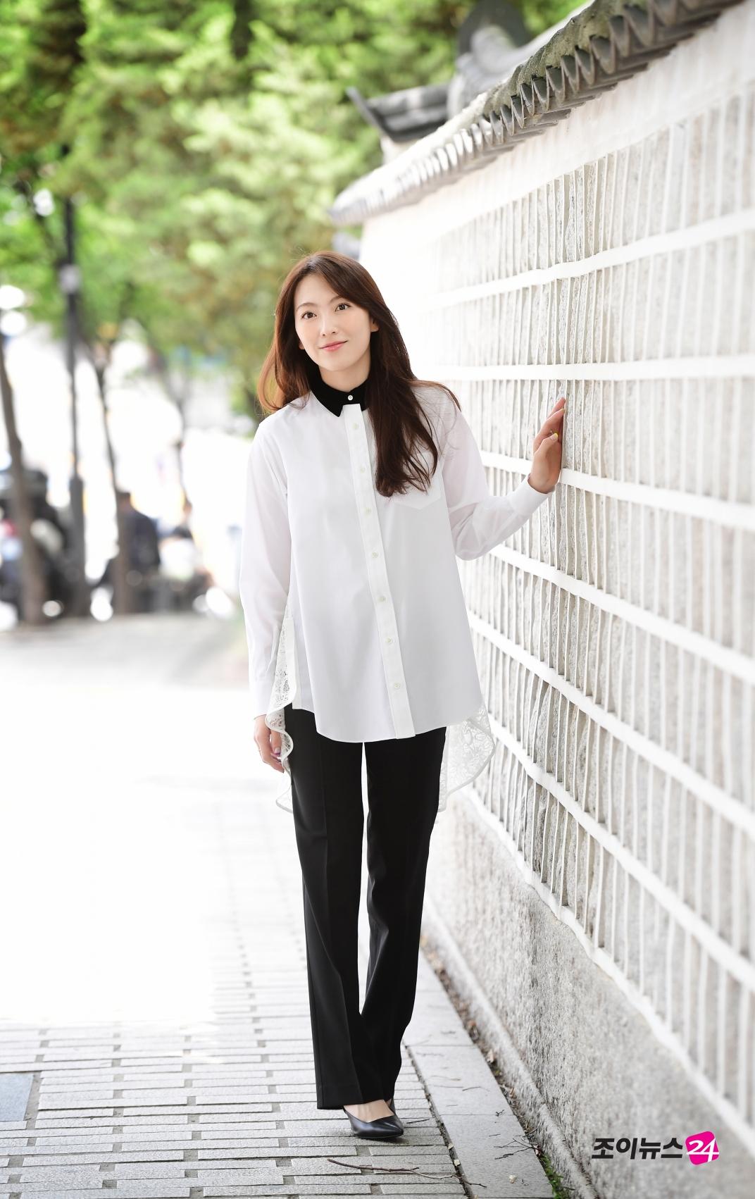[조이HD]강지영, '평범한 패션도 특별하게 만드는 미모'