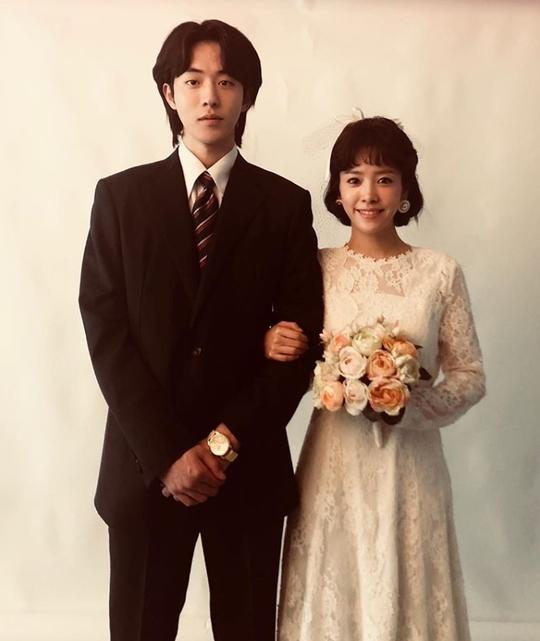 '눈이 부시게' 한지민X남주혁 결혼사진 공개…애틋한 분위기[SNS★컷]