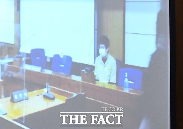 [TF사진관] 중계법정에 모습 드러낸 '웰컴투비디오' 운영자 손정우