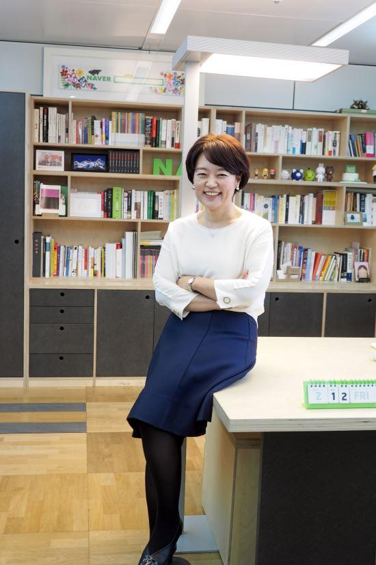 네이버, 신임 대표에 한성숙 부사장 내정 : 네이버 뉴스