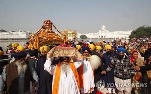INDIA RELIGION SIKHS