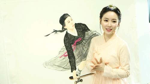 """경영학 공부한 동양화가 김현정 """"미술 문턱 낮추고 싶어"""""""