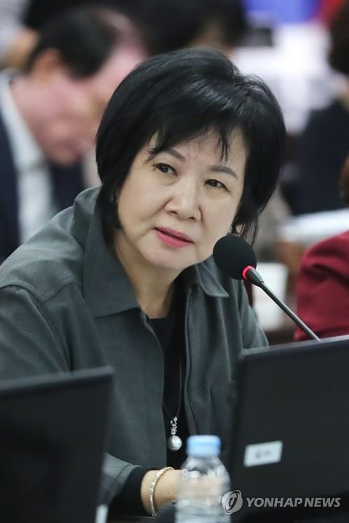 질의하는 손혜원