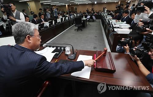 文정부 첫 국정감사 개막…여야, `적폐` vs `新적폐` 충돌(종합)