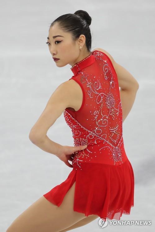 올림픽 새침한 표정