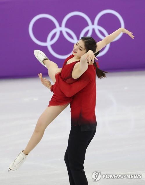 올림픽 연기 펼치는 시부타니 남매