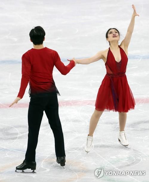올림픽 시부타니 남매의 표정 연기