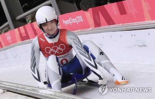 -올림픽- 프리슈, 한국 루지 역대 최고성적 8위(종합)