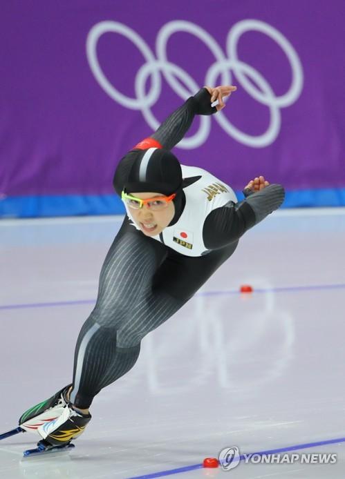 [올림픽] 이상화 맞수 고다이라 역주