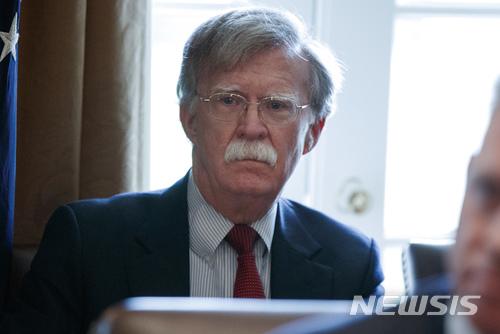 """볼턴 """"CVID 비핵화 목표 포기하지 않을 것"""""""